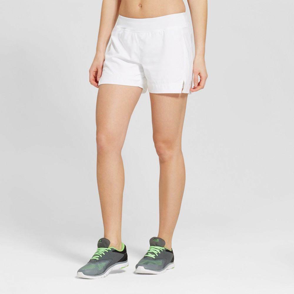 Womens Tennis Shorts - C9 Champion - White 6, Size: 8