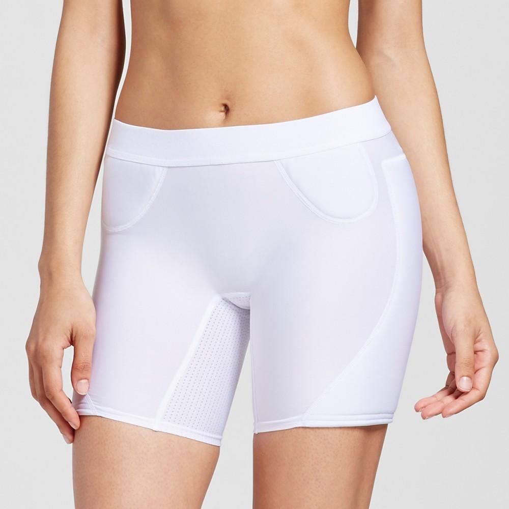 Womens Softball Slider Shorts - C9 Champion - White S