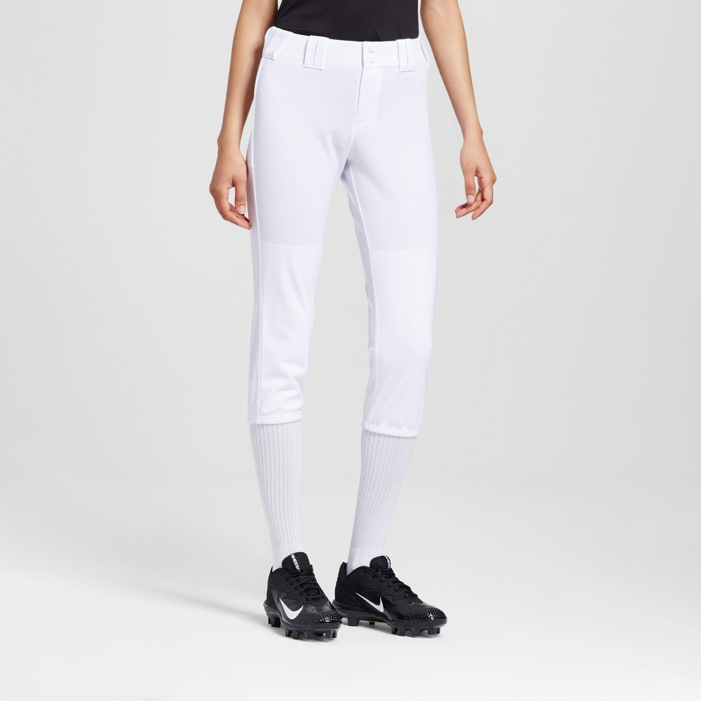 Womens Softball Pants - C9 Champion - White XS