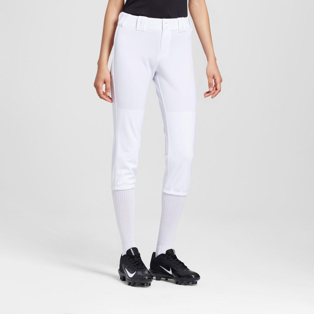 Womens Softball Pants - C9 Champion - White M