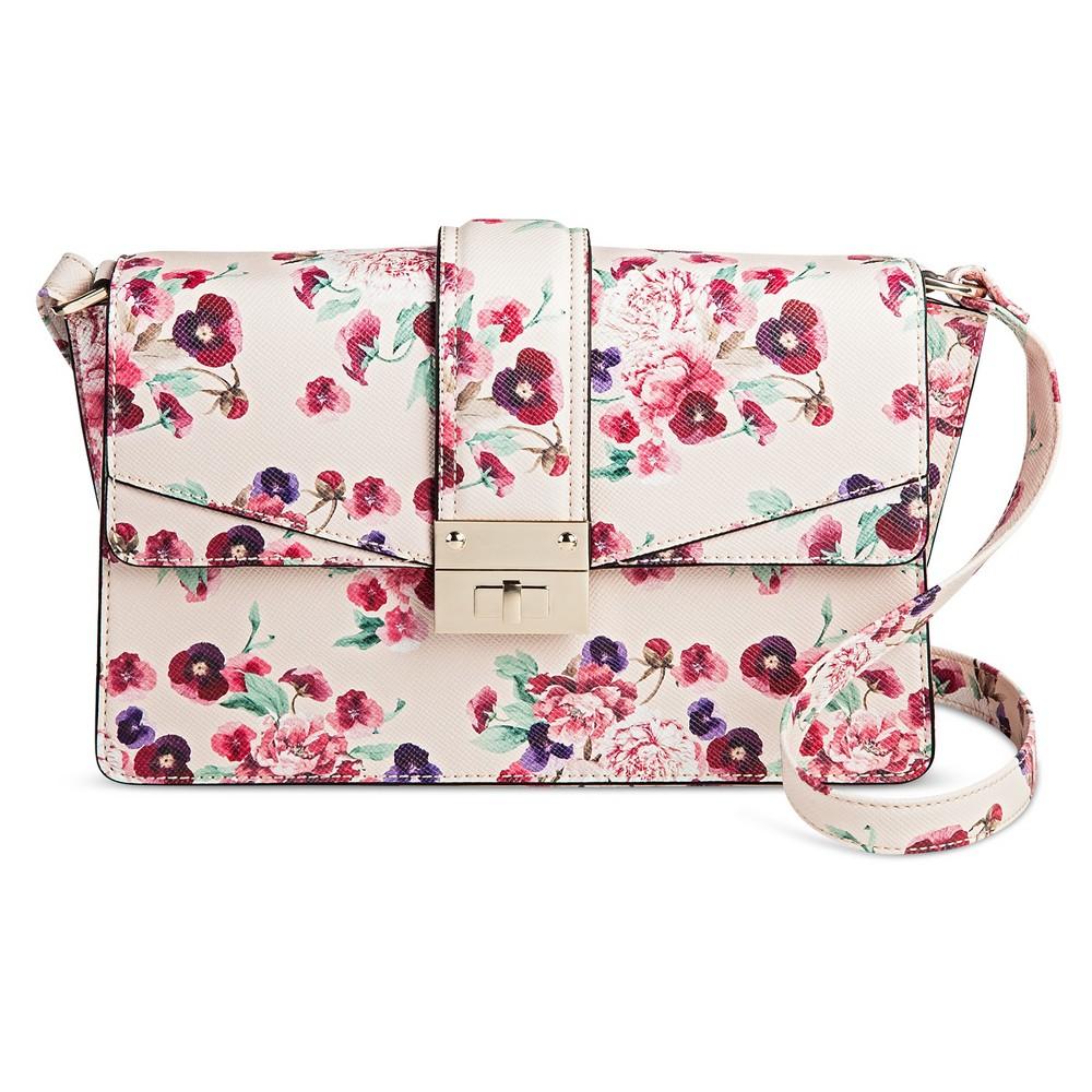 Women's Pink Floral Crossbody Handbag – Mossimo