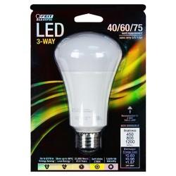 Feit 40-60-75-Watt 3 Way LED Light Bulb - Soft White