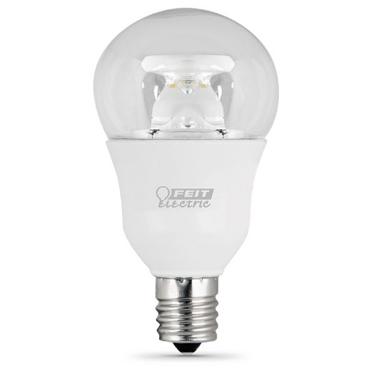 a15 60 watt dimmable led light bulb intermediate base clear target. Black Bedroom Furniture Sets. Home Design Ideas
