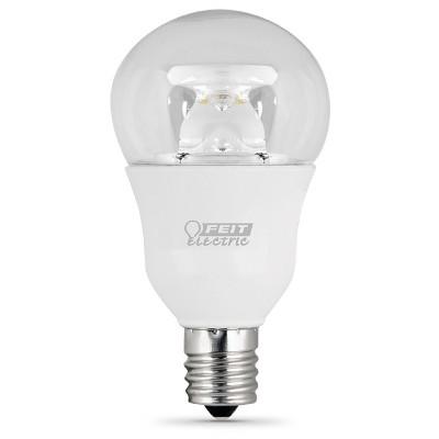 feit a15 60watt dimmable led light bulb base clear - A15 Bulb
