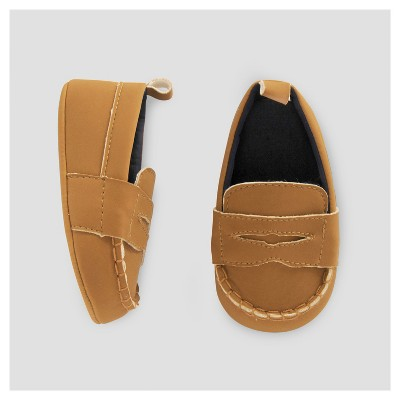 Baby Boys' Nubuck Loafer - Just One You™ Made by Carter's® Brown 2