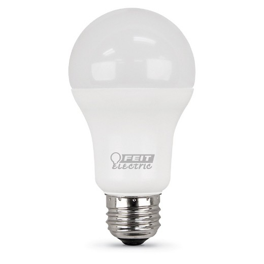feit a19 100 watt led light bulb 2 pack 3000k soft. Black Bedroom Furniture Sets. Home Design Ideas