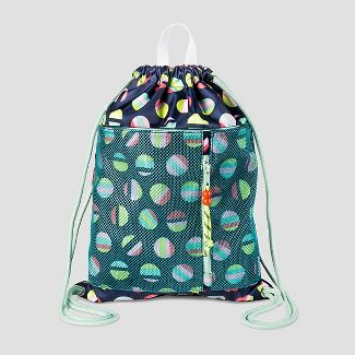 Cat Jack Kids Heart Pocket Backpack Blue