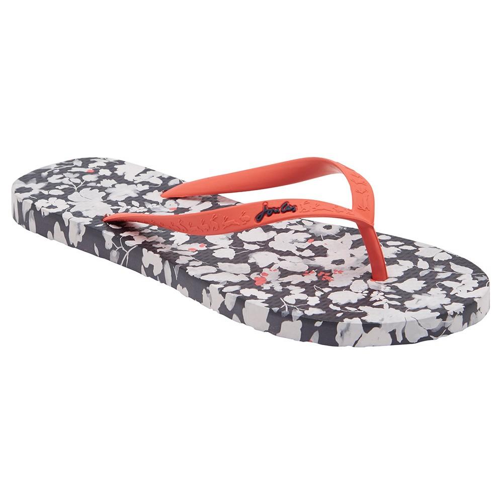 Womens Joules Sandy Mara Flip Flop Sandals - Navy 10, Blue