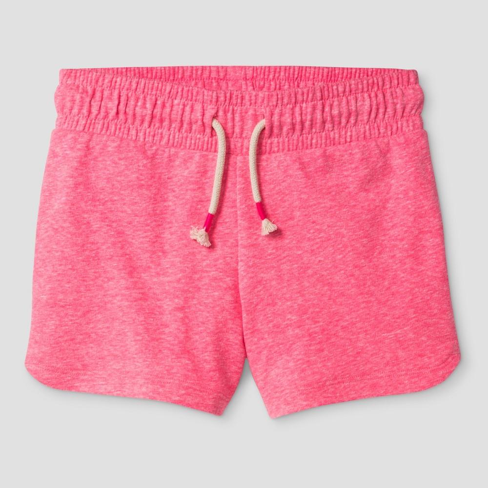 Girls Knit Pull On Shorts - Cat & Jack Pink XS