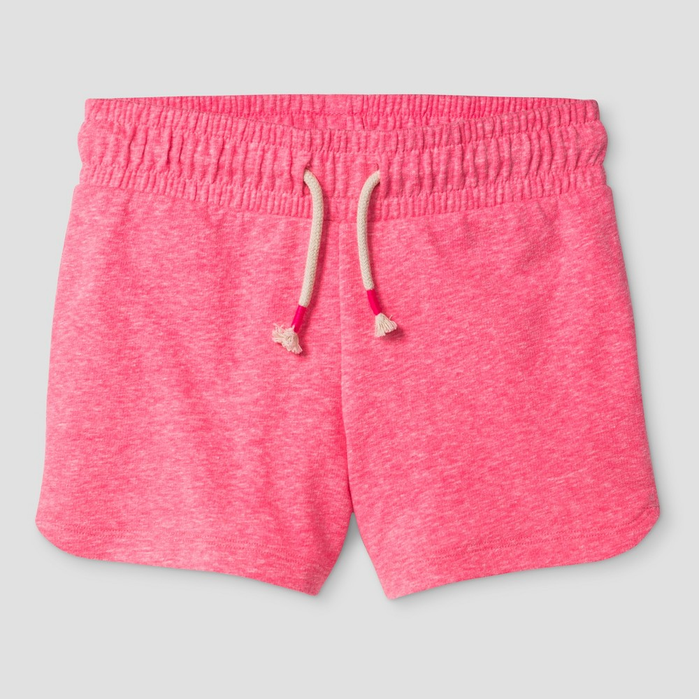 Girls Knit Pull On Shorts Cat & Jack - Pink M