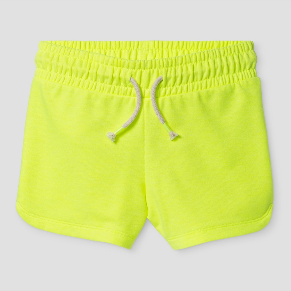 Girls Knit Pull On Shorts - Cat & Jack Yellow Xxl