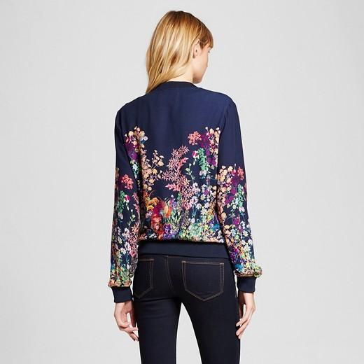Women's Printed Bomber Jacket - Merona™ : Target