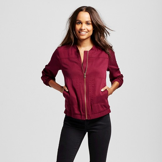 Women's Bomber Jacket - Merona™ : Target