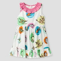 Toddler Girls' Dr. Seuss A Line Dress - White. opens in a new tab.