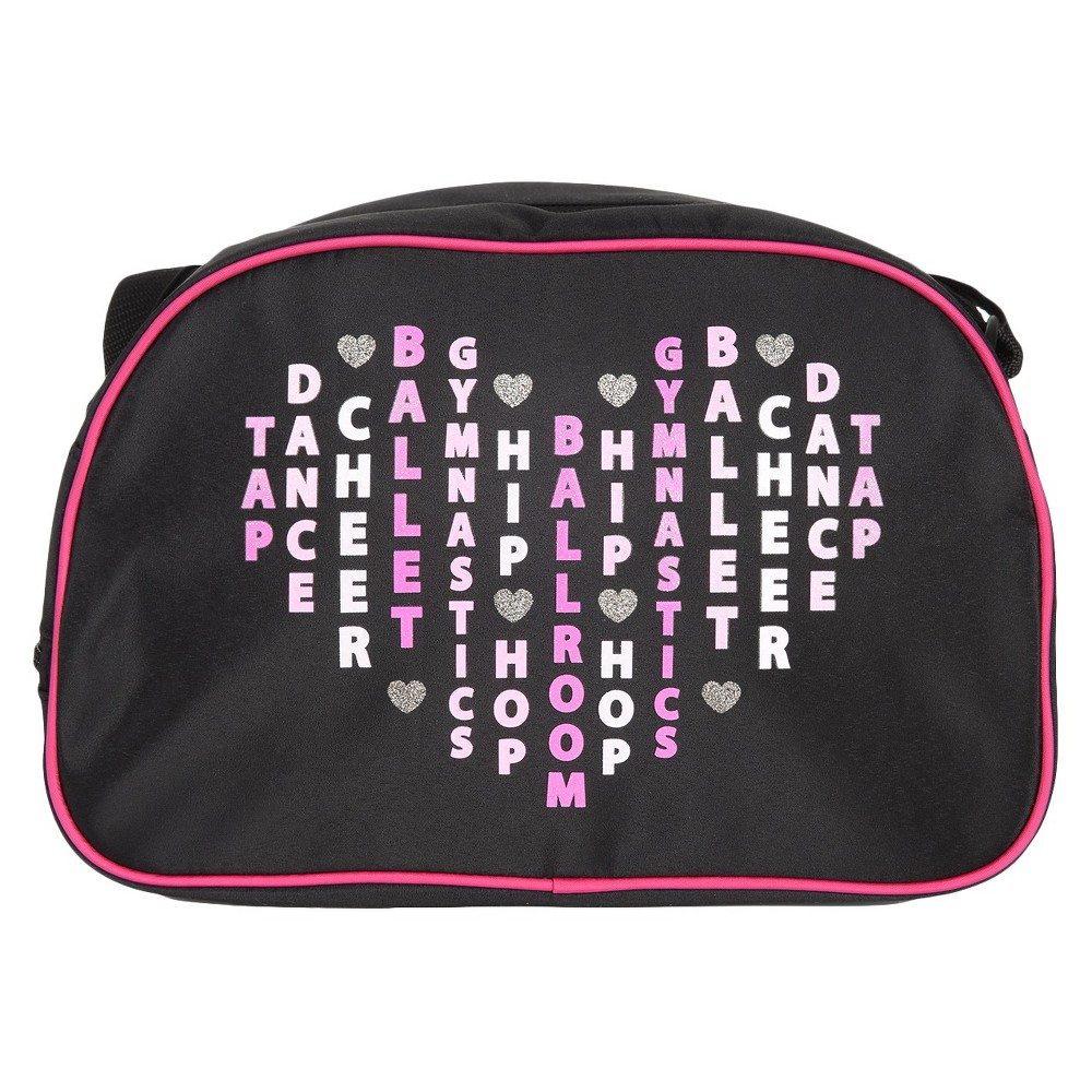 Girls Dance Bag Freestyle - Black One Size