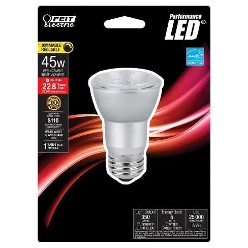 Feit PAR16 45-Watt Dimmable Light Bulb 3000K - image 1 of 2