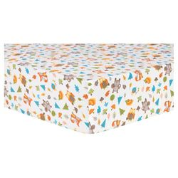 Trend Lab Deluxe Flannel Fitted Crib Sheet Scandi Forest