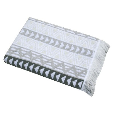 Triangle Geo Bath Towel - Gray - Nate Berkus™