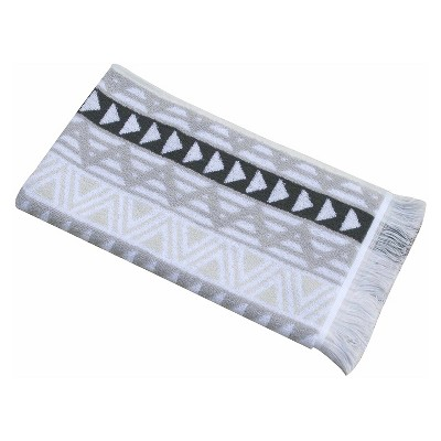 Triangle Geo Hand Towel - Gray - Nate Berkus™
