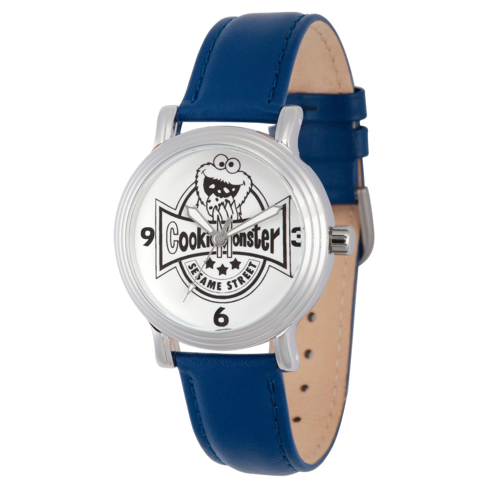 Women's Sesame Street Women's Silver Vintage Alloy Watch - Blue