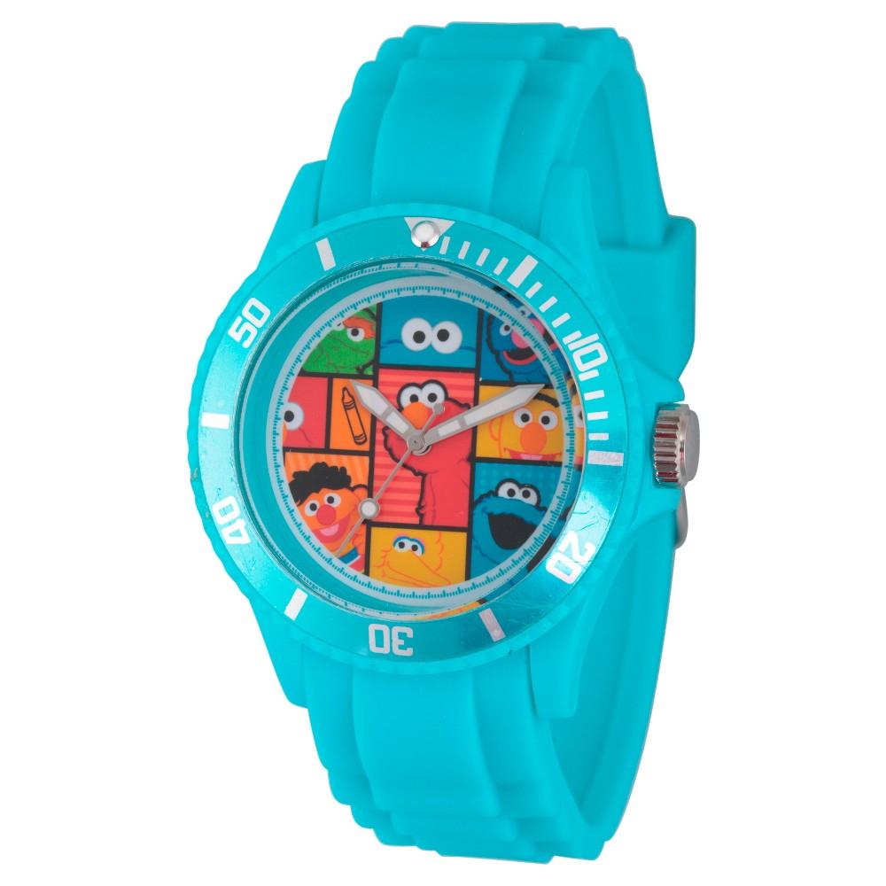 Unisex Sesame Street Unisex Blue Plastic Watch - Blue