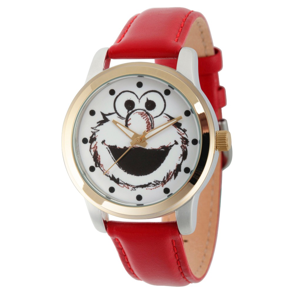 Unisex Sesame Street Unisex Two Tone Alloy Watch - Red