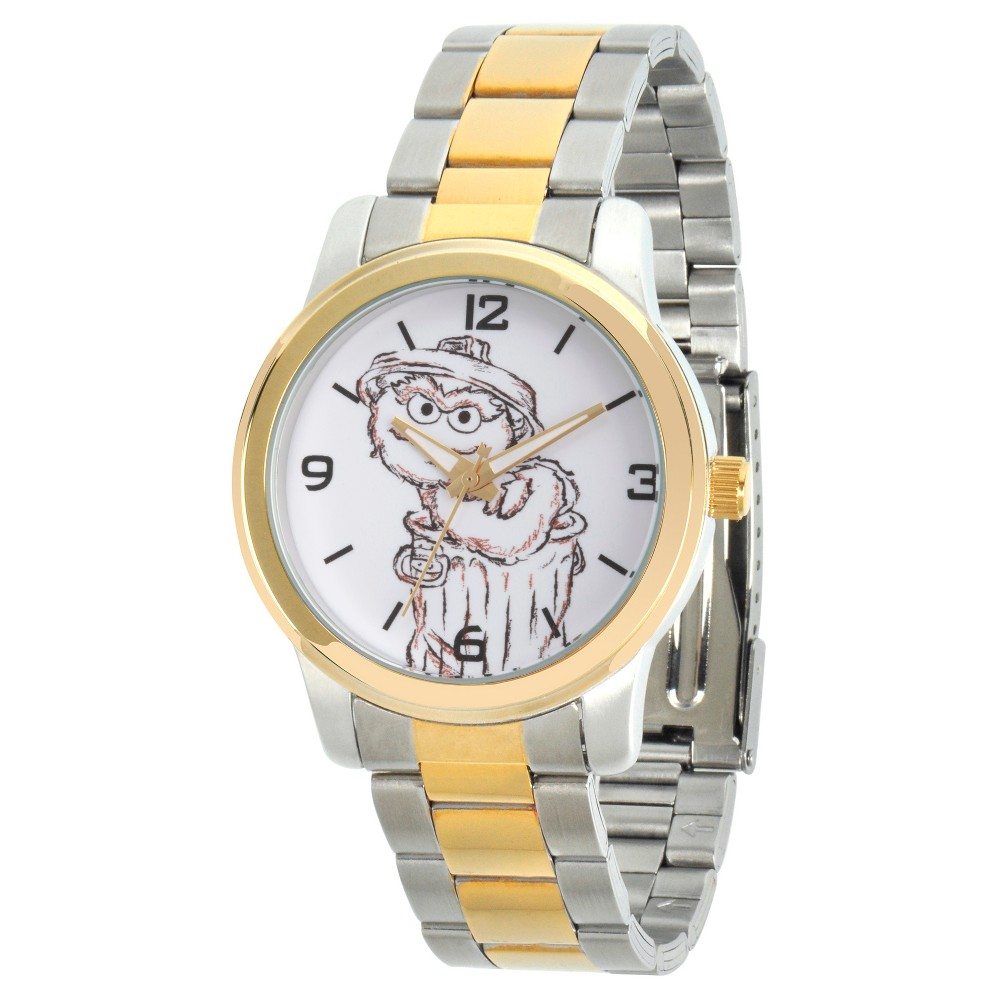 Unisex Sesame Street Unisex Two Tone Alloy Watch - Two Tone, Multi-Colored
