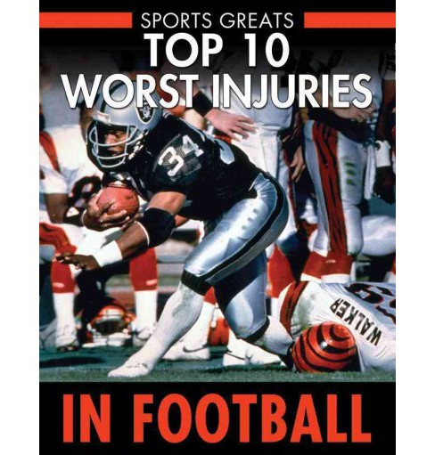 Top 10 Worst Injuries in Football (Vol 6) (Library) (David Aretha) - image 1 of 1