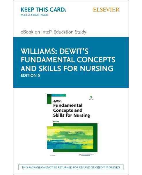 Fundamental Concepts and Skills for Nursing : Elsevier Ebook on Intel Education Study (Hardcover) - image 1 of 1