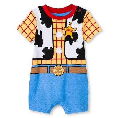 Child Bodysuits Disney Woody White 18 M