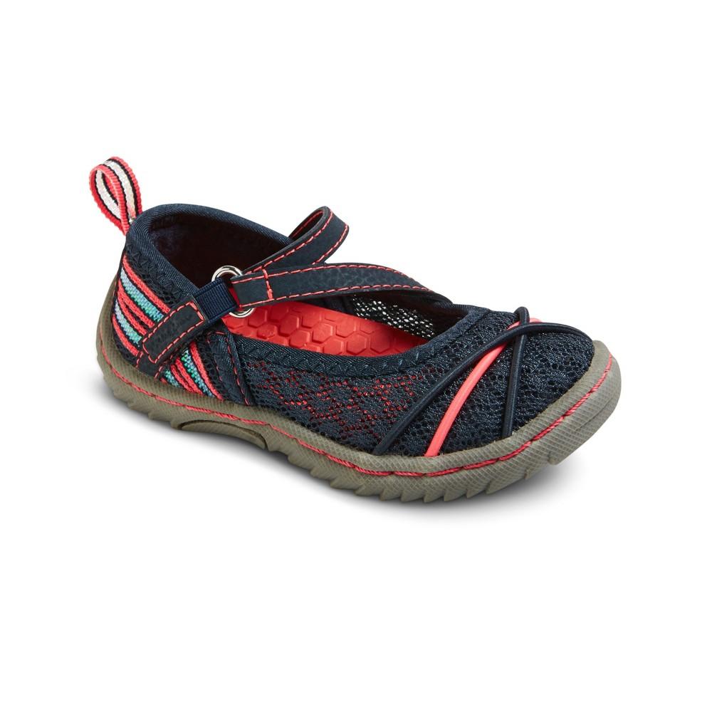 Toddler Girls Eddie Bauer LeeAnne Mary Jane Shoes - Navy (Blue) 10