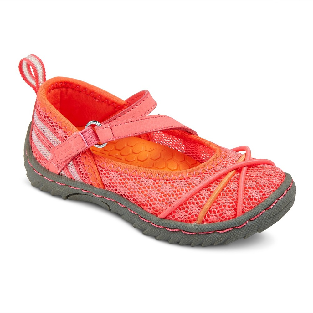Toddler Girls Eddie Bauer LeeAnne Mary Jane Shoes - Pink 10