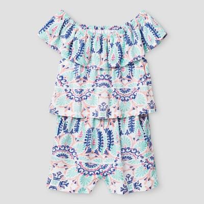 Baby Girls' Romper Genuine Kids™ from OshKosh® Fresh White 12M
