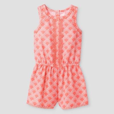Baby Girls' Romper Genuine Kids™ from OshKosh® Shell Pink 12M
