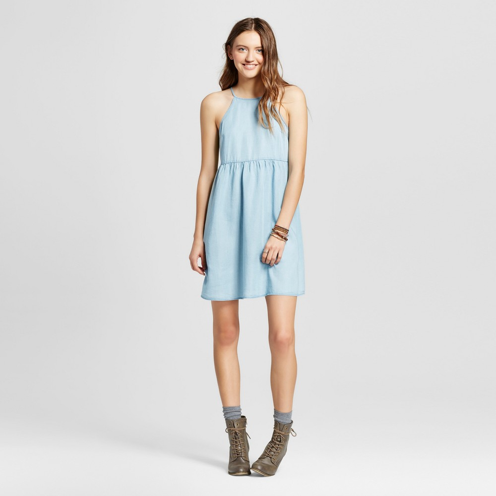 Women's Woven Dress Denim L – Mossimo Supply Co., Blue