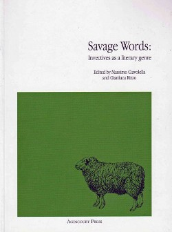 Savage Words : Invectives As a Literary Genre (Paperback)