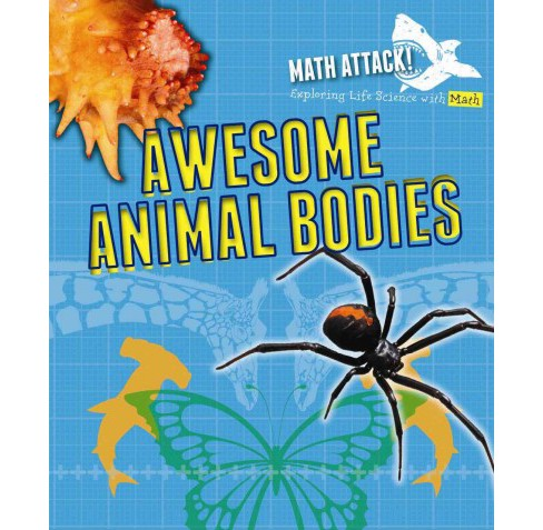 Awesome Animal Bodies (Vol 0) (Library) (Robyn Hardyman) - image 1 of 1