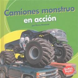 Camiones monstruo en acción/ Monster Trucks on the Go (Library) (Kerry Dinmont)