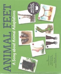 Animal Feet : A Song About Animal Adaptations (Library) (Vita Jimenez)