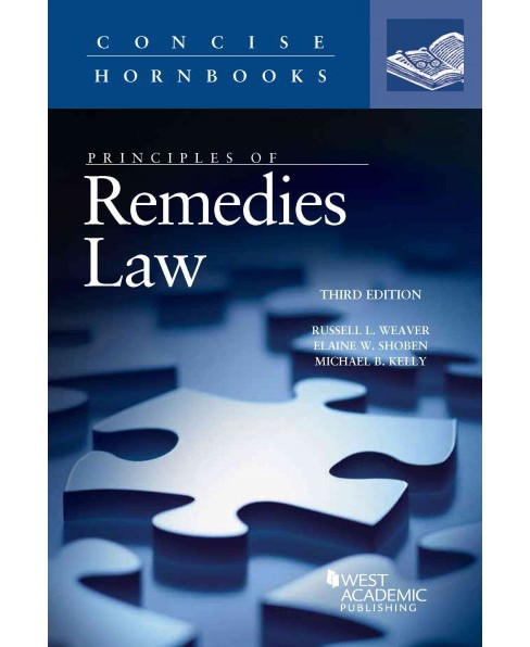 Principles of Remedies Law (Paperback) (Russell Weaver) - image 1 of 1
