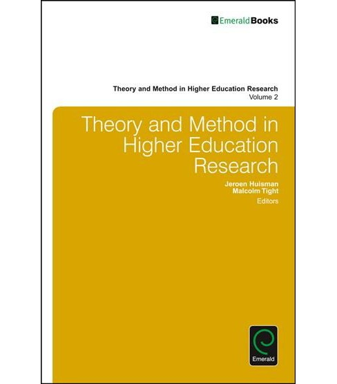 Theory and Method in Higher Education Research (Vol 2) (Hardcover) - image 1 of 1
