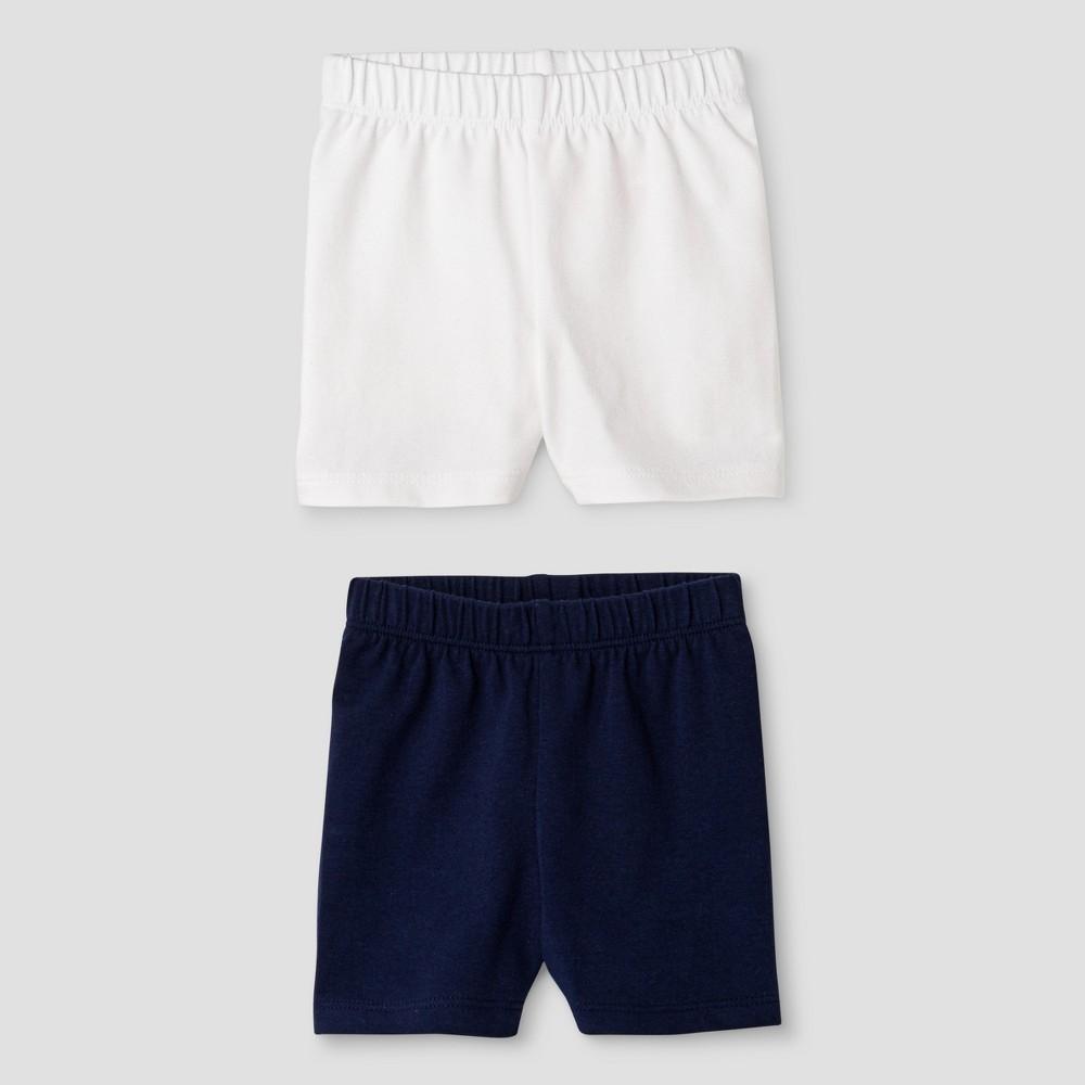 Toddler Girls Trouser Shorts Cat & Jack Nighttime Blue 18M, Size: 18 M