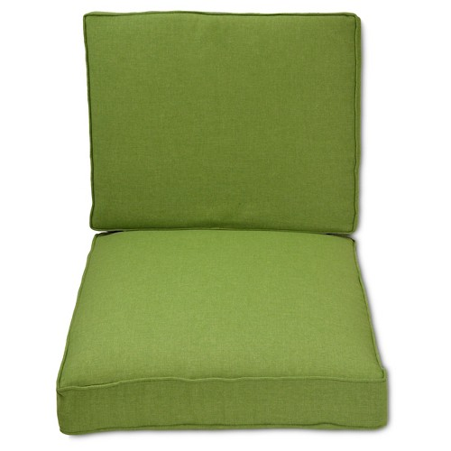 Halsted Outdoor Armless Sectional Cushion Set - Threshold, Green