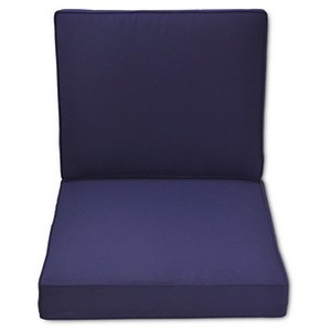 Halsted Outdoor Armless Sectional Cushion Set - Threshold, Blue