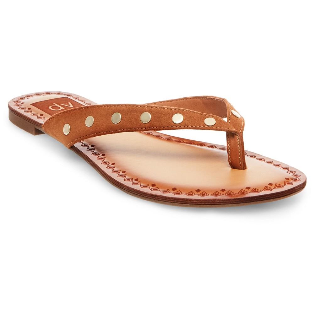Womens dv Bel Flip Flop Sandals - Brown 9