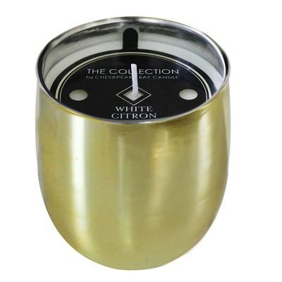 Jar Candle White Citron Gold 9.5oz - THE COLLECTION by Chesapeake Bay Candle®