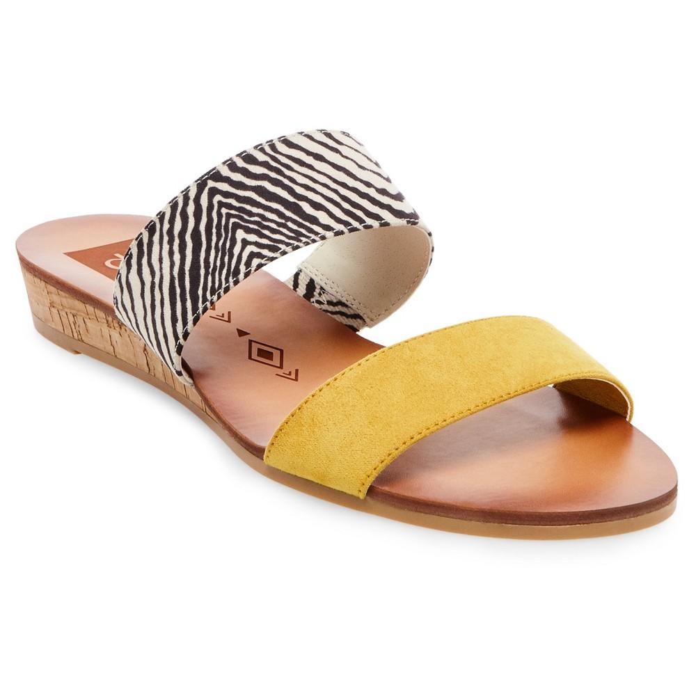 Womens dv Bailey Slide Sandals - 8, Yellow