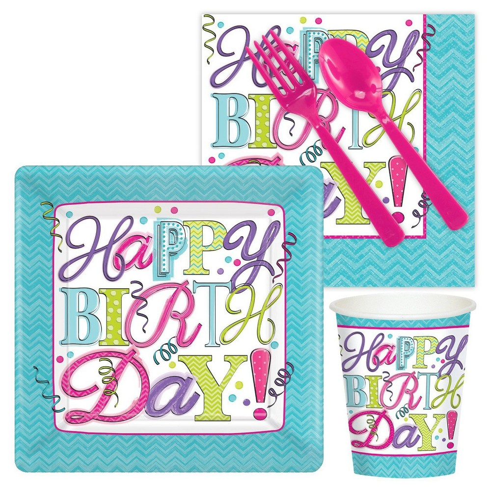 Sweet 16 Party Pack, Multicolored