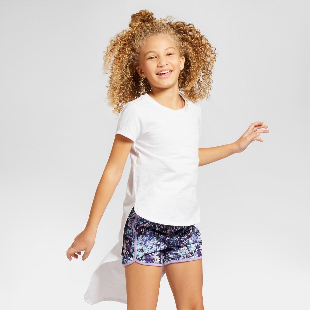 Girls' Hi-Low T-Shirt Art Class – White XL, Girl's