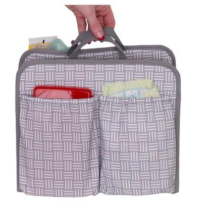 Diaper Dude Sabrina Soto Bag Organizer - Gray